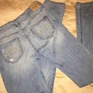 "A&F skinny jeans 33"" Tall Girl!"